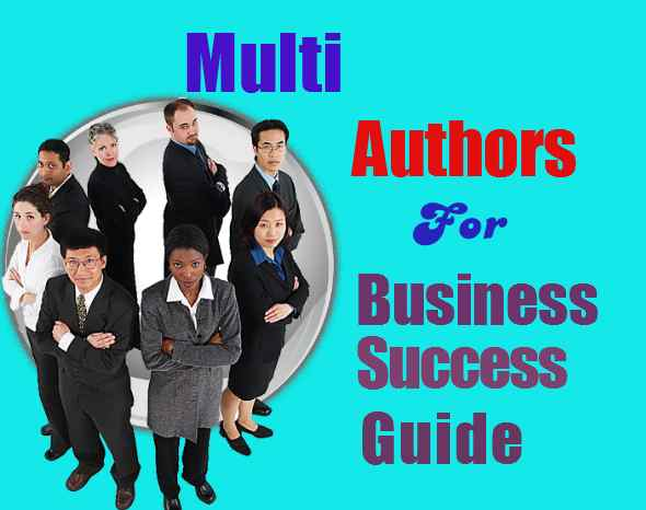 Multiple Authors Needed For Business Success Guide